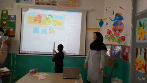 Video Projector and a Laptop for a School in Sistan and Baloochestan