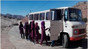School Transportation for Remote Villages in Lorestan, Iran
