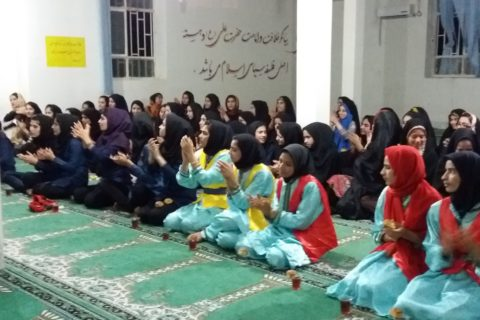 School Set for Behesht Zahra School in Tehran