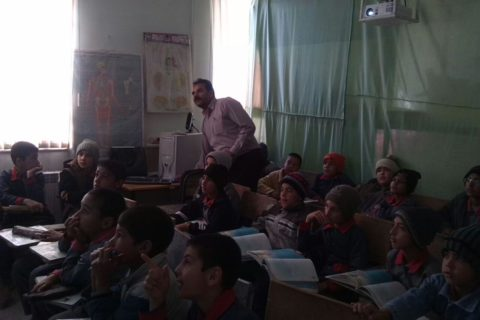 Video Projector for Sadegh School