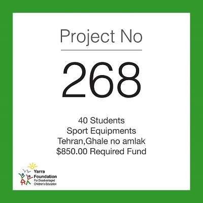 Yarra Projects: Sport Kits for 40 Students